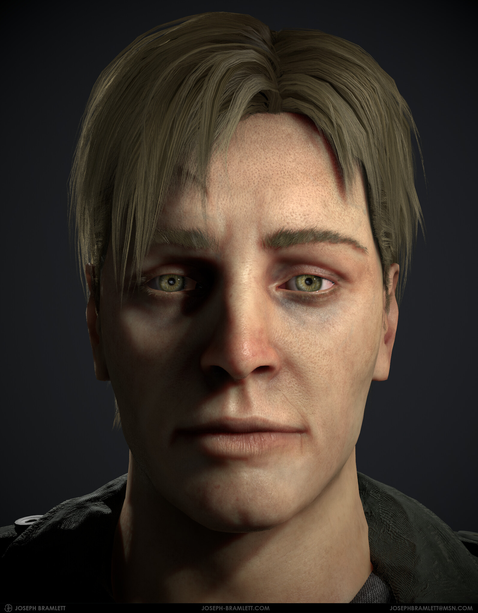 Artstation James Sunderland Silent Hill 2 Fan Art Joseph