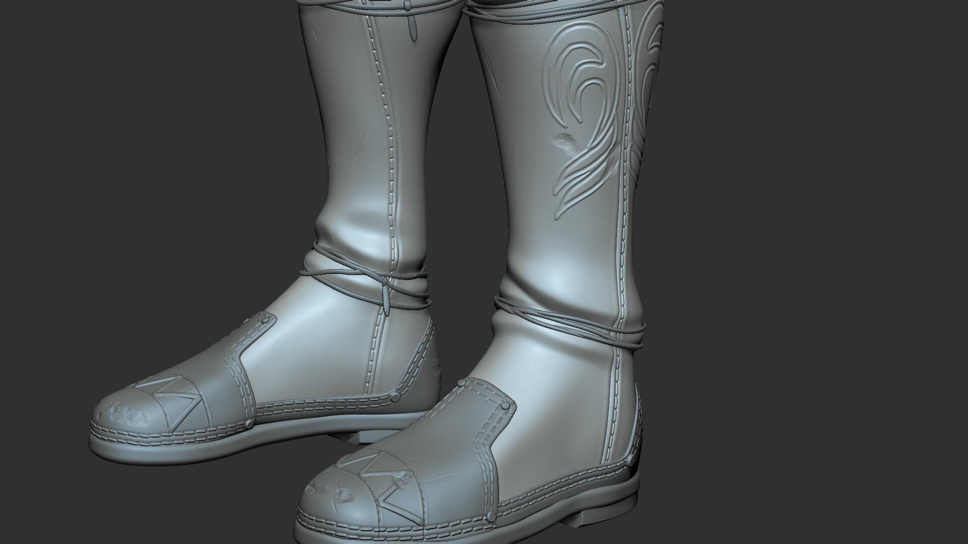 Alex aznar samperi boots