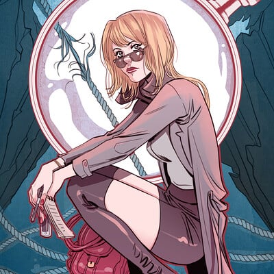 Marguerite sauvage nancydrew cover dynamitecomics