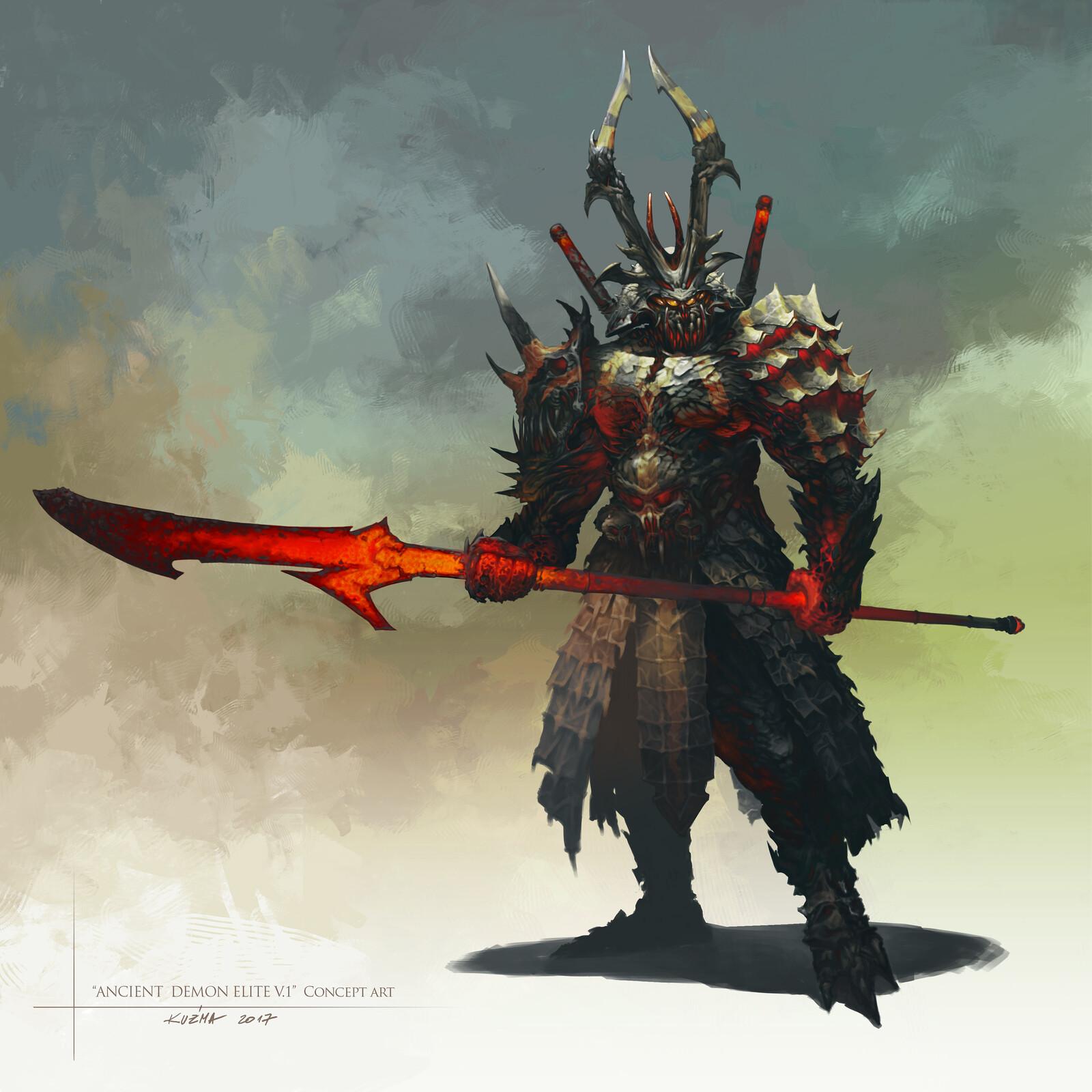 """Ancient demon elite "" few versions"