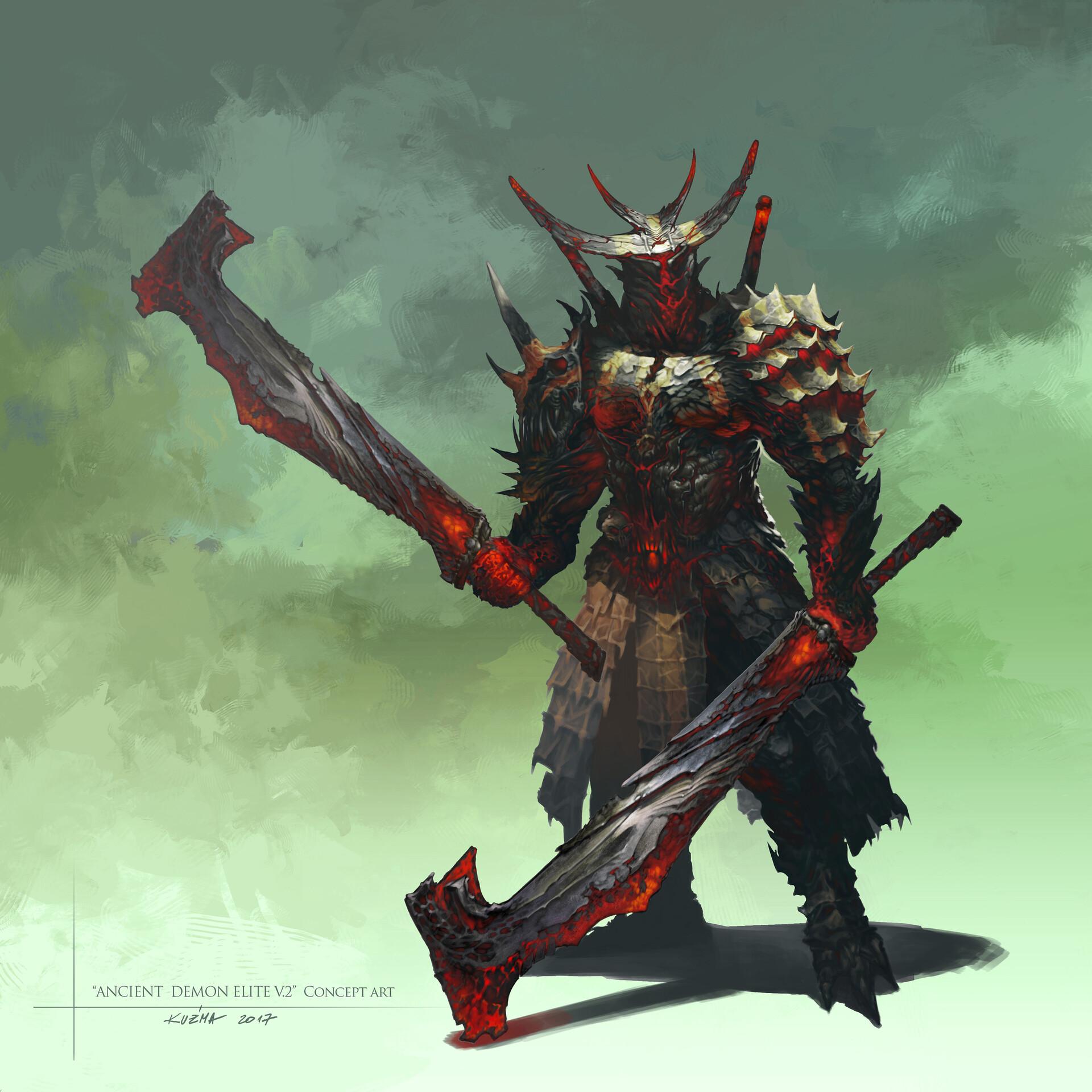 Jakub kuzma ancient demon elitev2