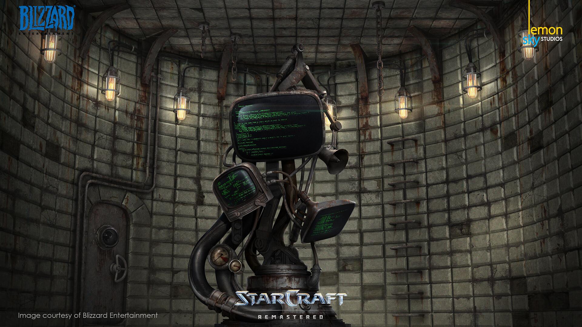 ArtStation - STARCRAFT REMASTERED, Lemon Sky Studios
