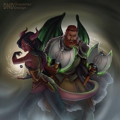 Wraith and Lerissa