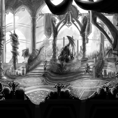 Doriane claireaux burning throne final
