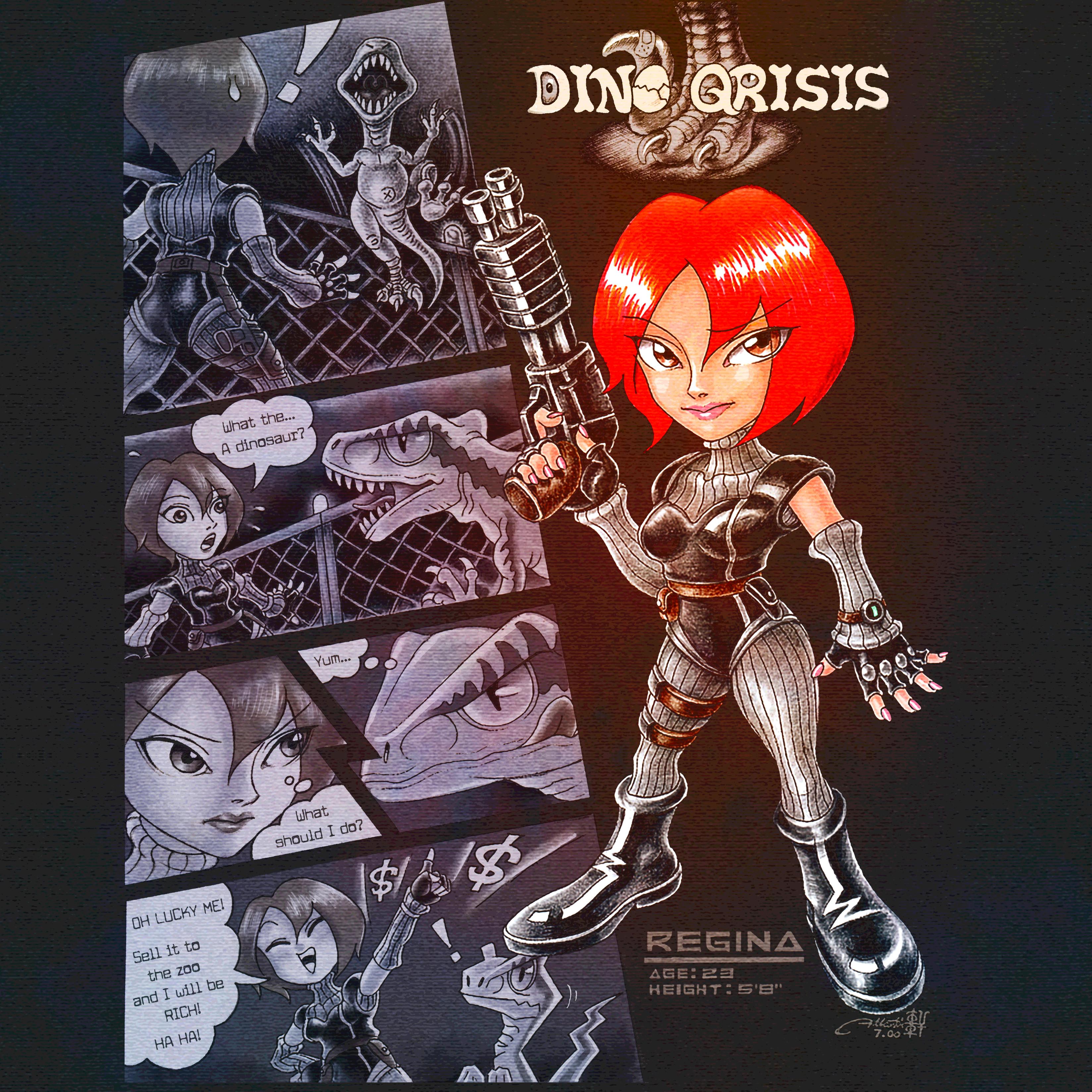 Dino Crisis: Chibi Comic