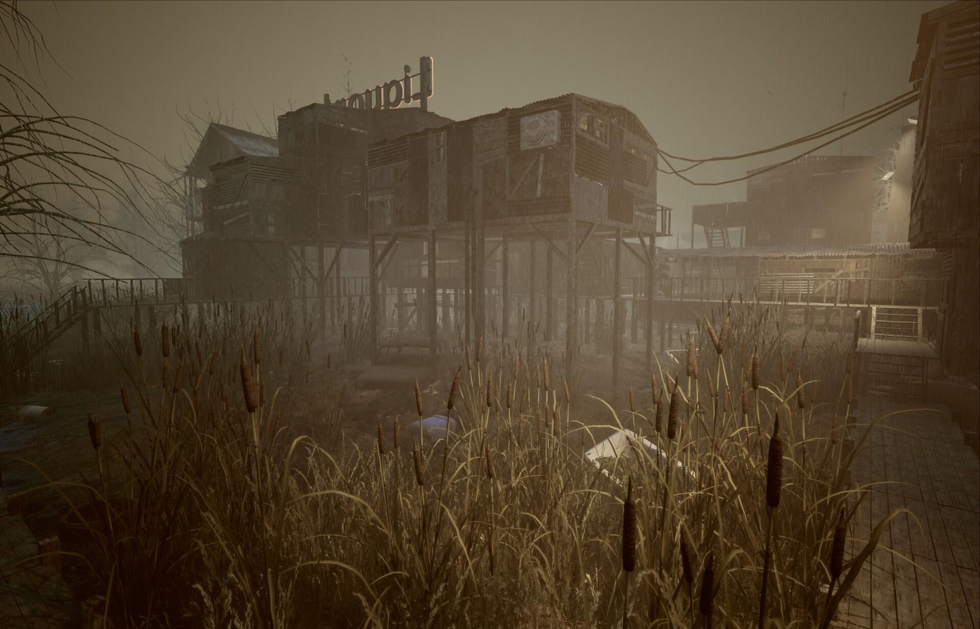 ArtStation - Fallout 4 Murkwater - Unreal Engine 4, Ghost Design