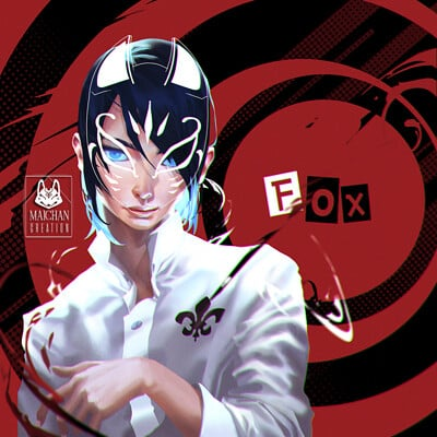 Mai chan persona fox1