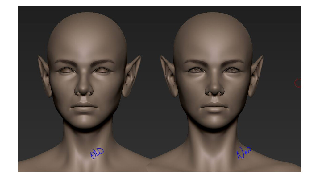 Julie beliveau sculpting workflow5