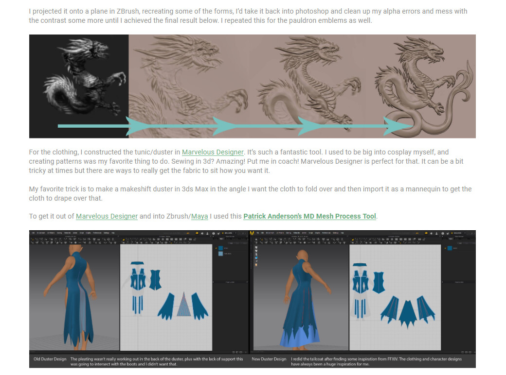 Julie beliveau armor workflow3