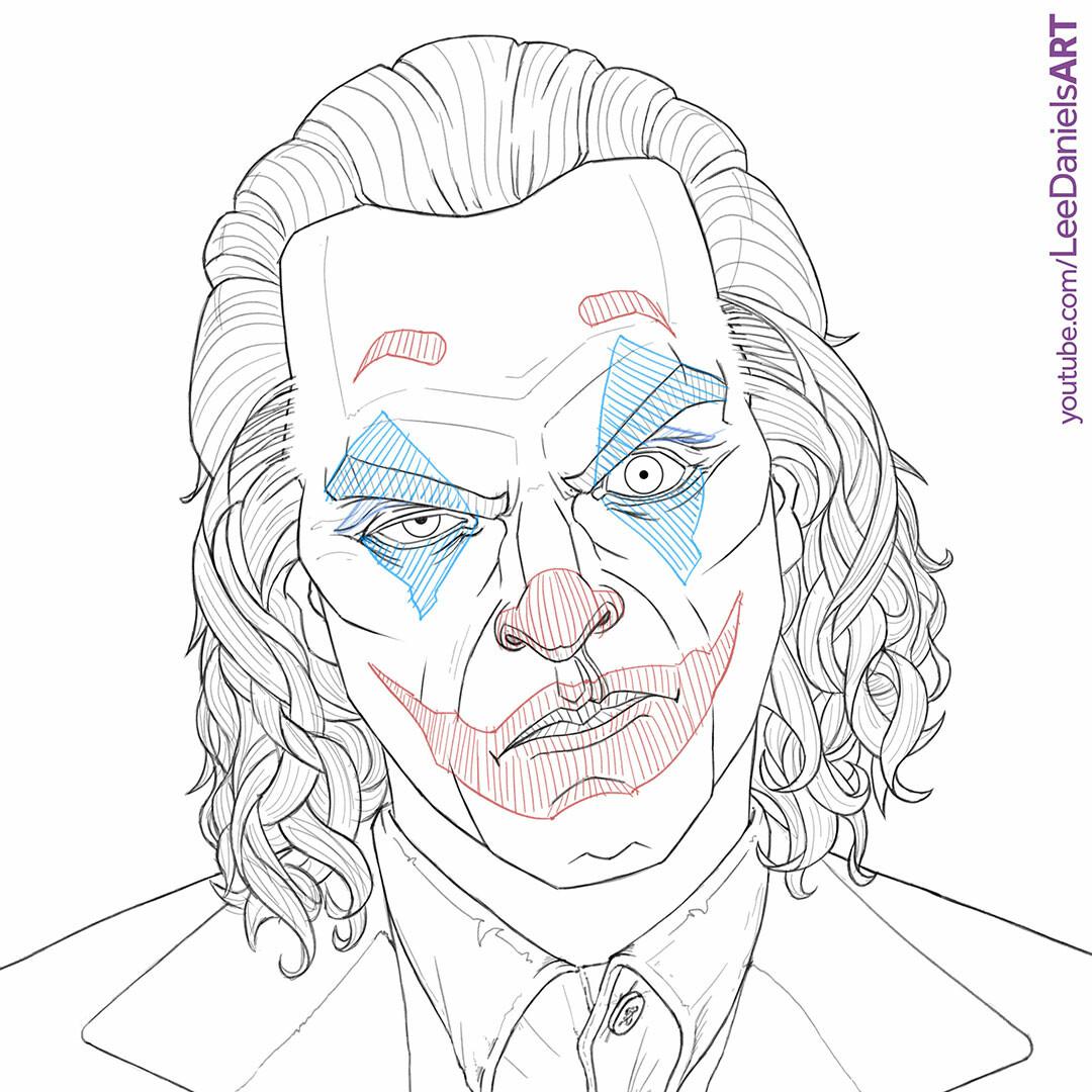 Artstation Joaquin Phoenix Joker Lee Daniels