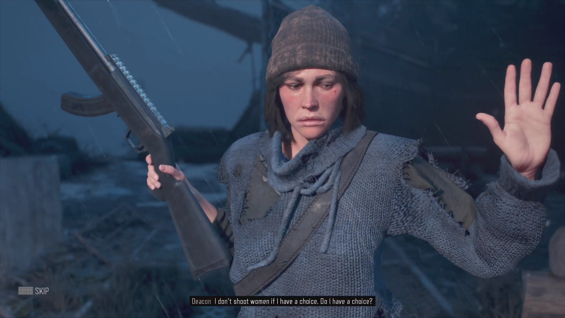 Dustin brown boozer blames deacon for not killing mary days gone 2019 0 20 screenshot