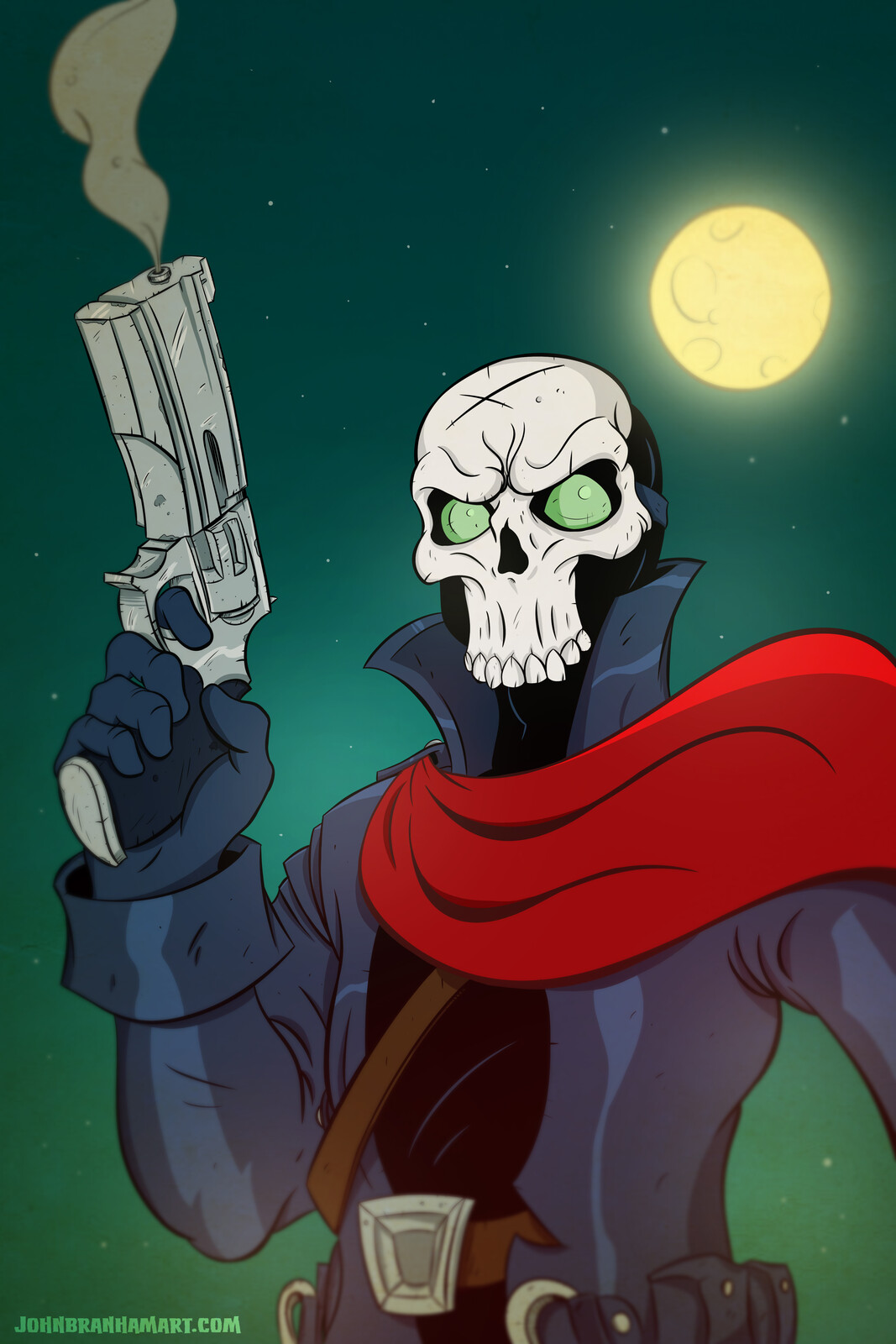 Skull Toon