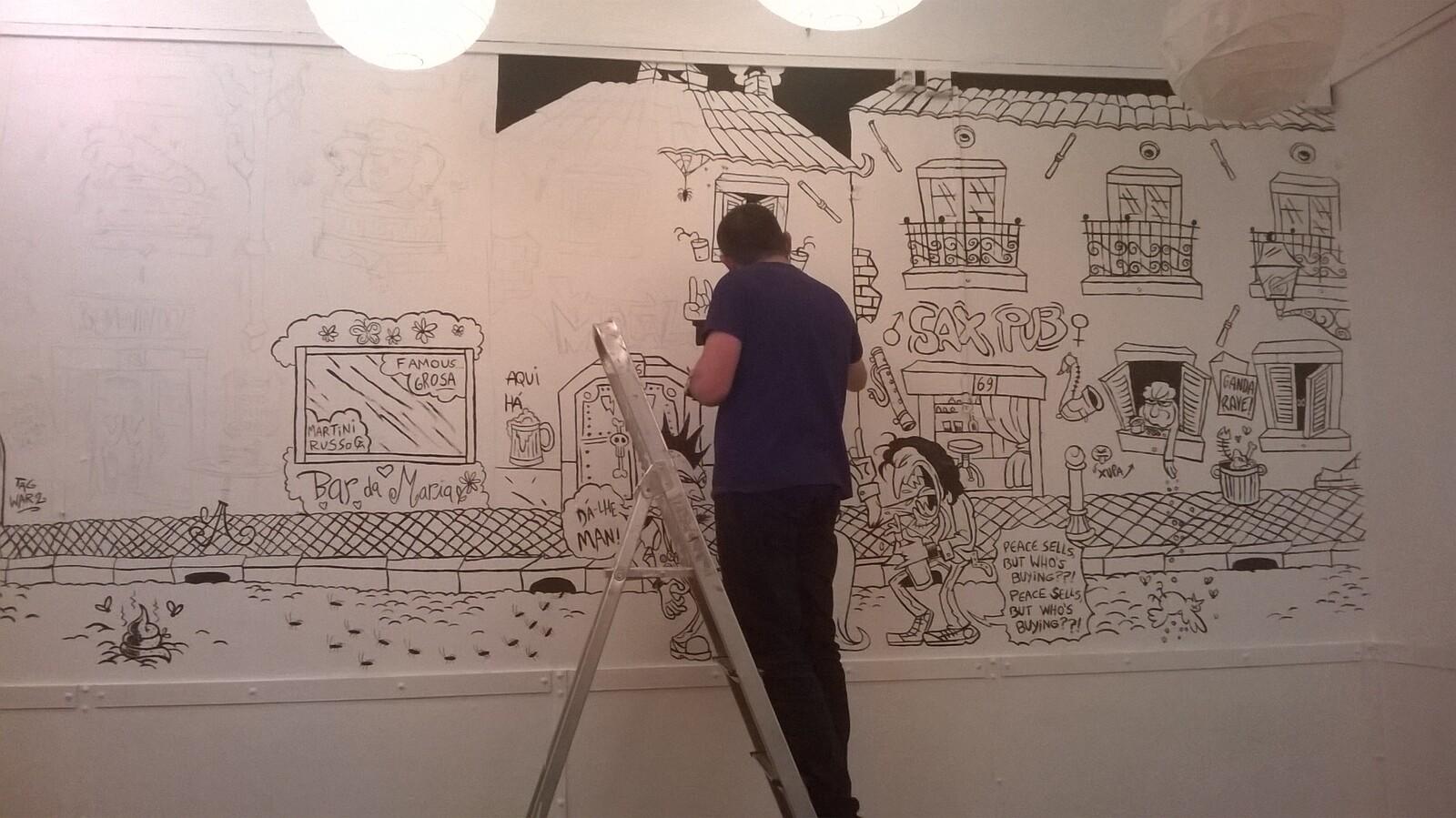 wall painting WIP (JAG)