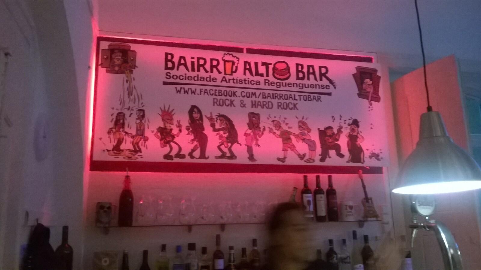 opening night bar poster