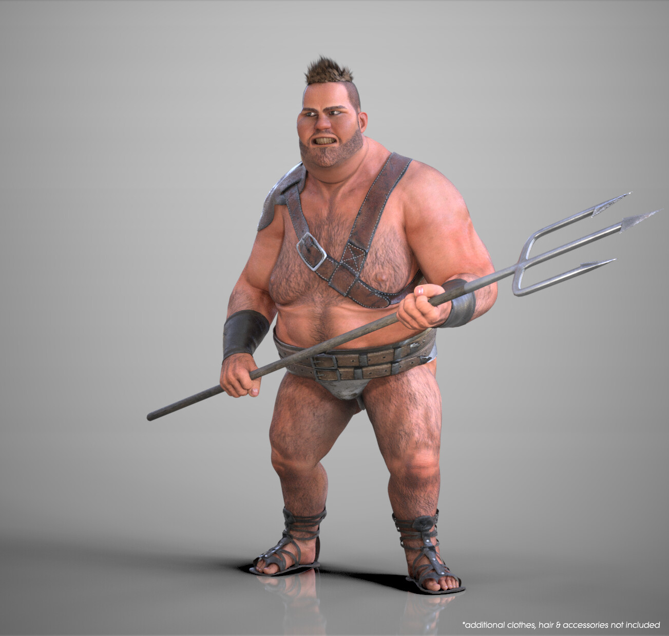 CC3 Stylized Male - Heavy Morph