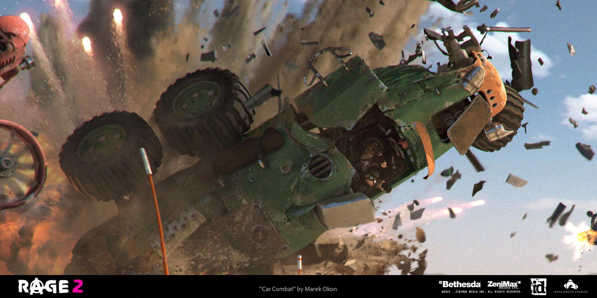 Marek okon rage 2 car combat closeup 03