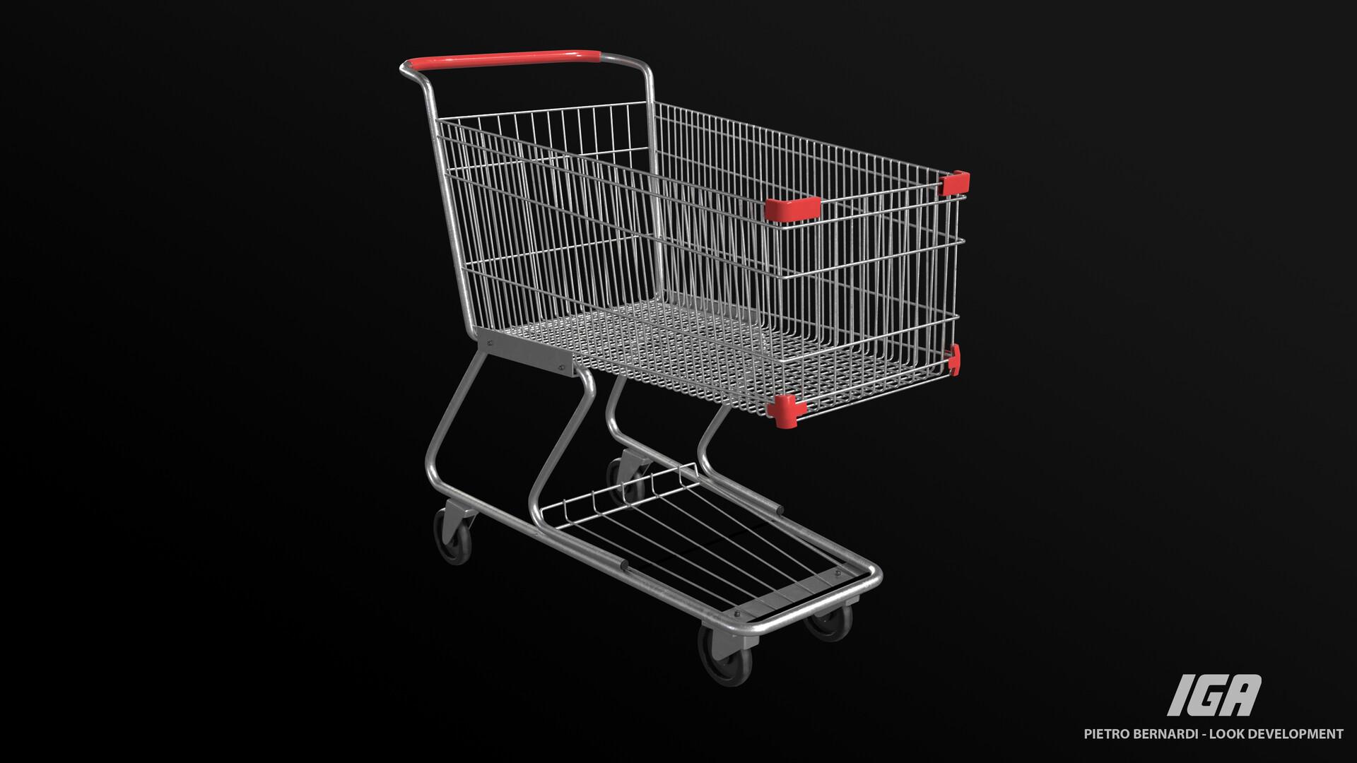 Pietro bernardi cart front