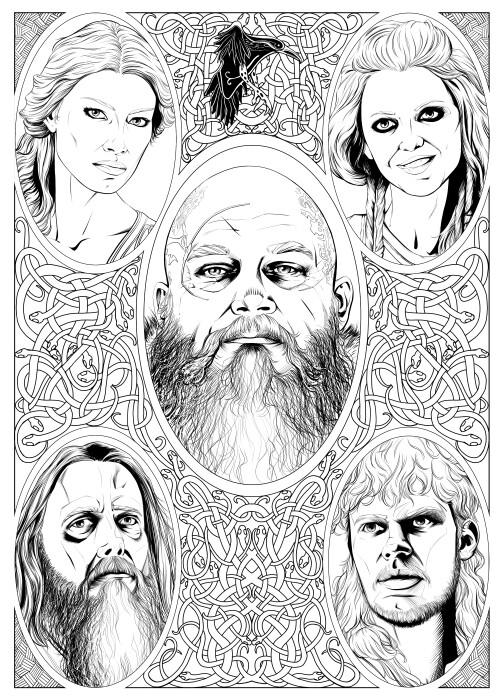 ArtStation - Vikings San Diego Comic-Con 2017 Special