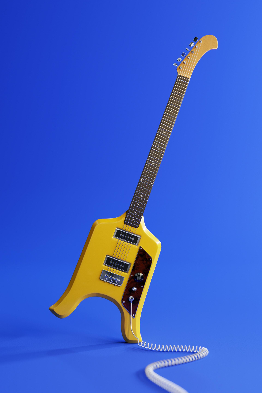 """Résultat de recherche d'images pour """"flying microtonal banana guitar"""""""