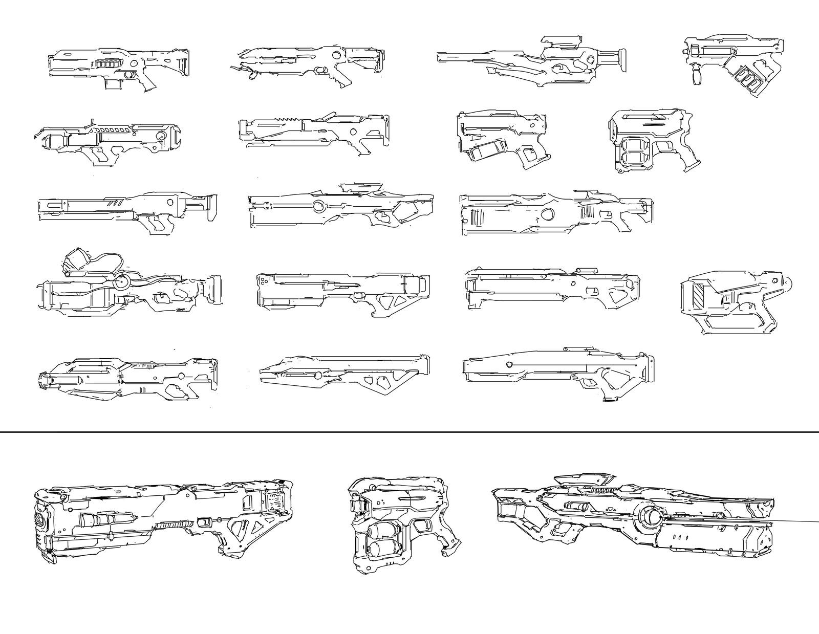 some random guns doodle