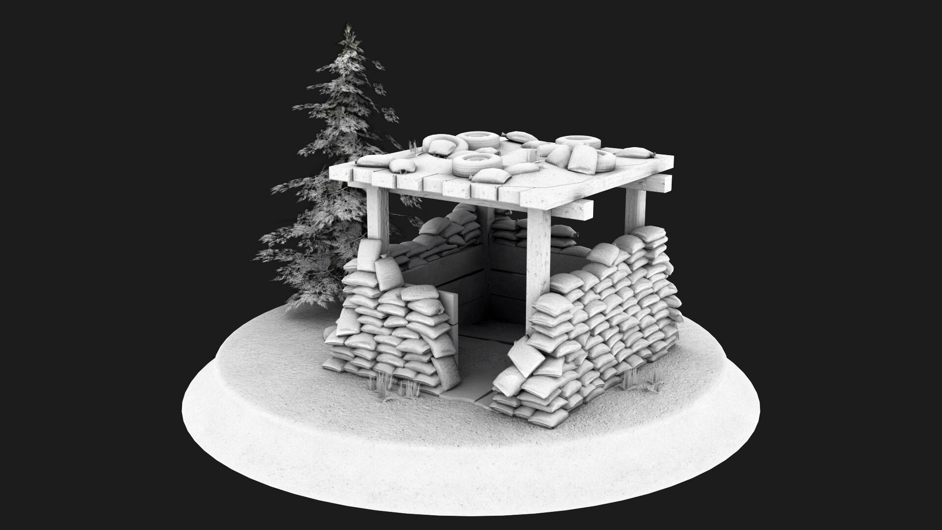 Jordan cameron sandbag bunker 8