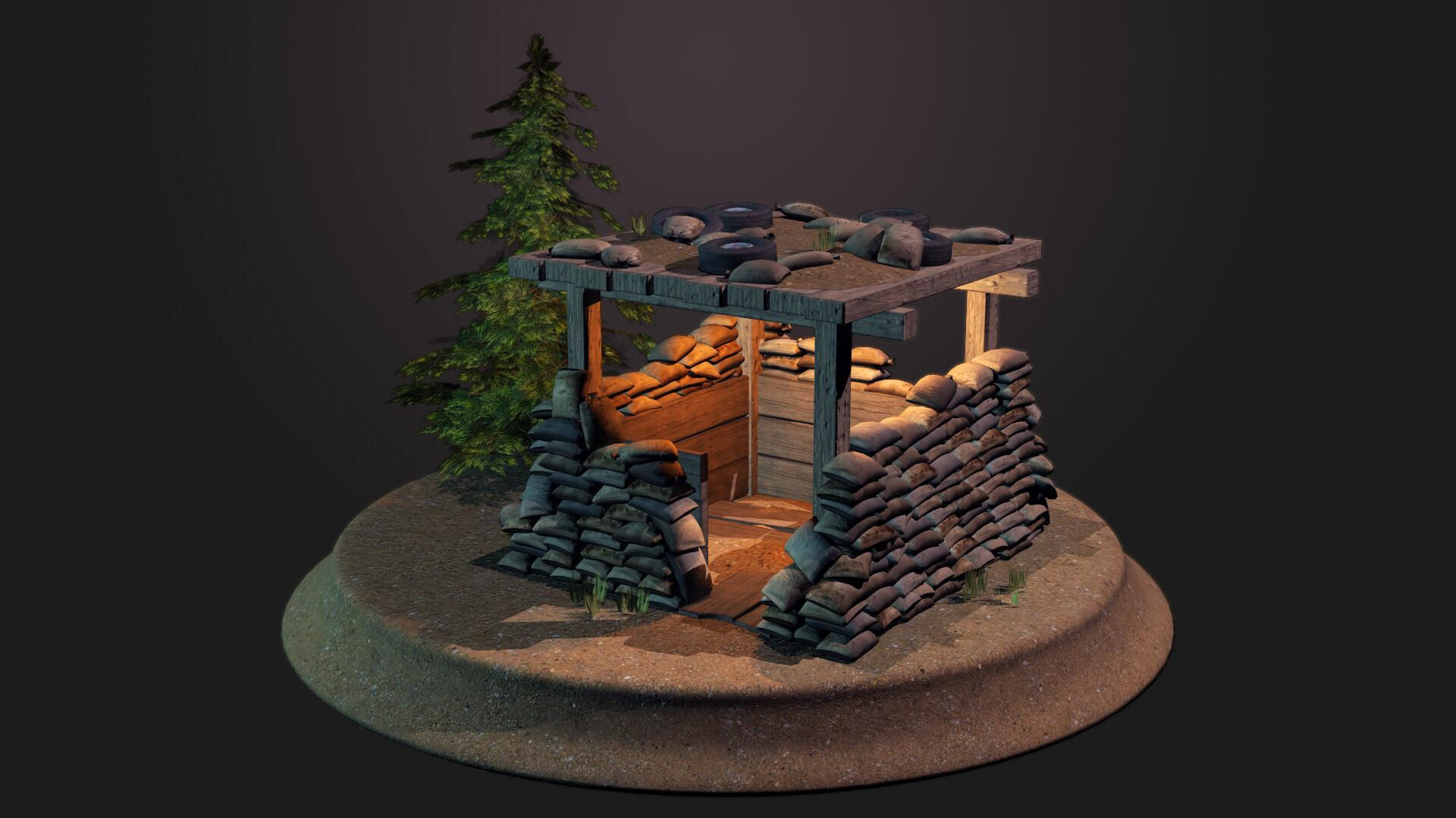 Jordan cameron sandbag bunker 3