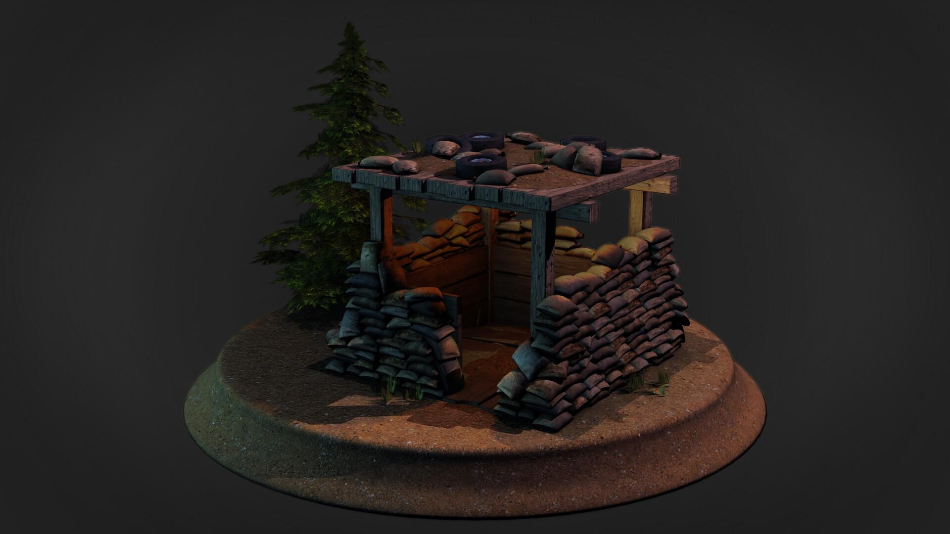 Jordan cameron sandbag bunker 11