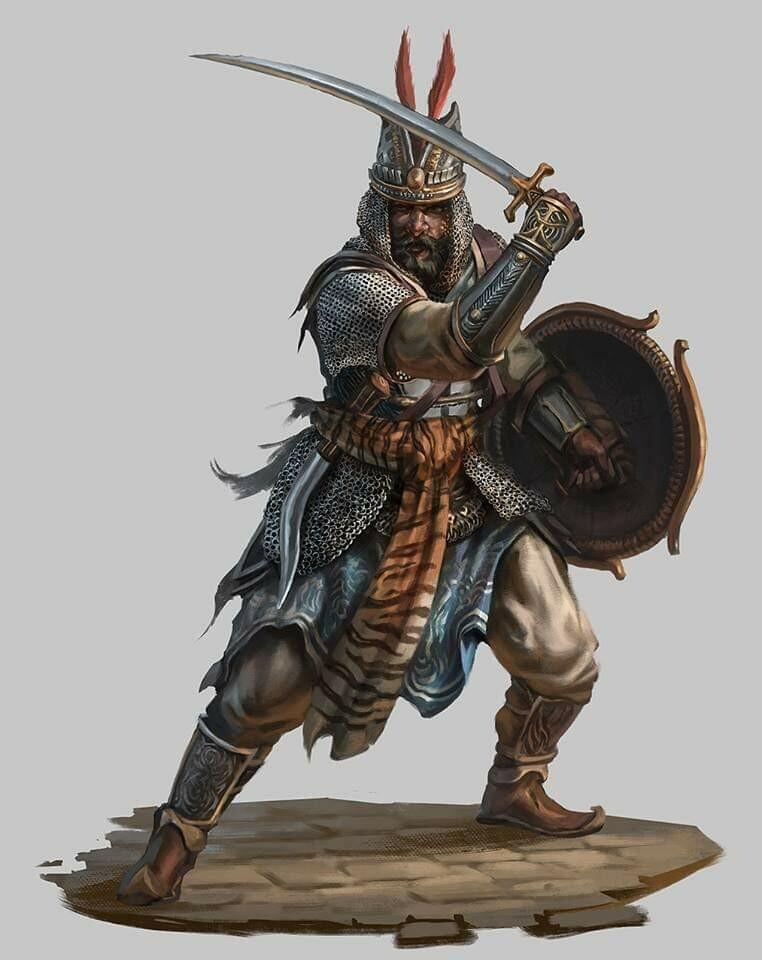 Mughal warrior
