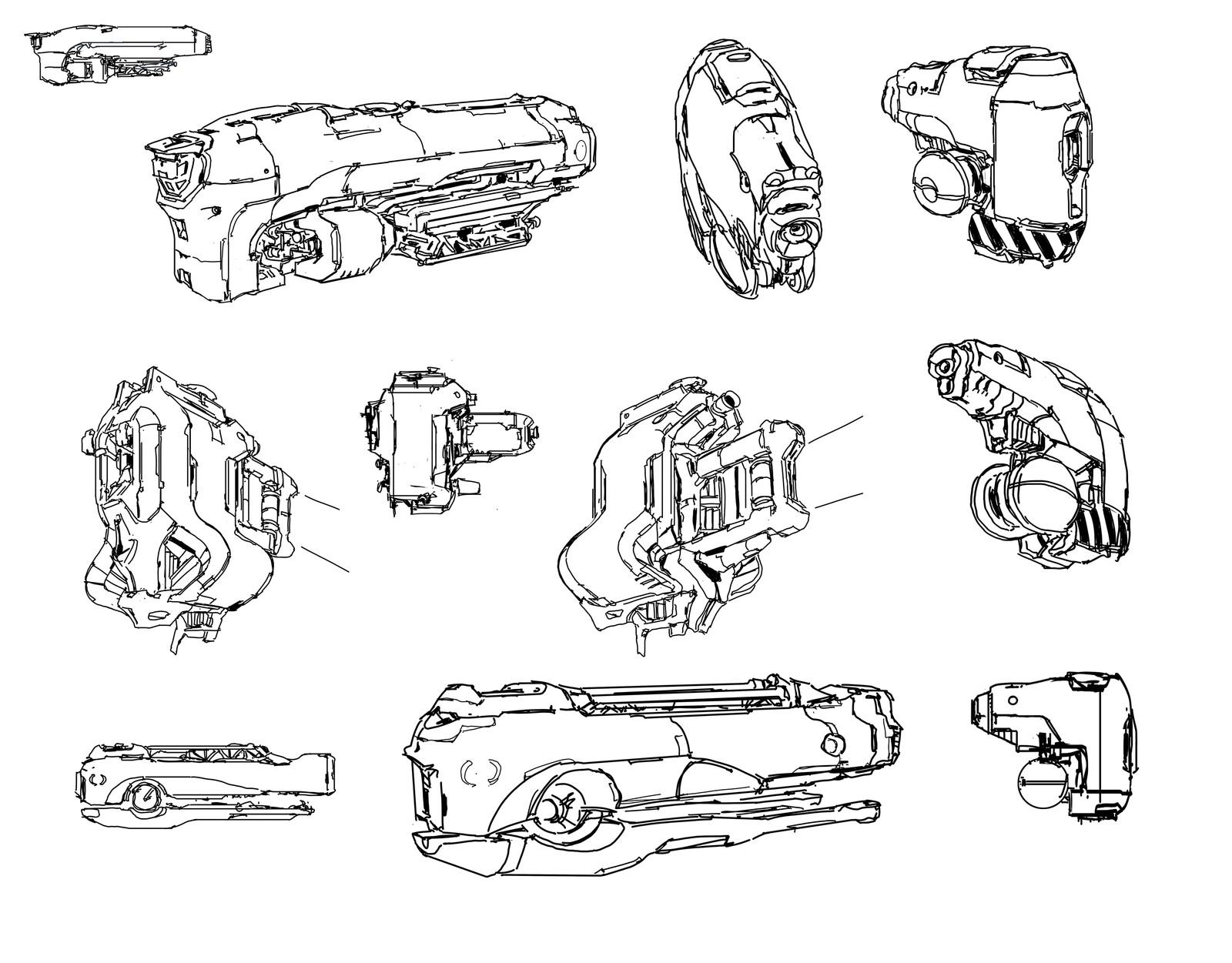 random ship doodle 6