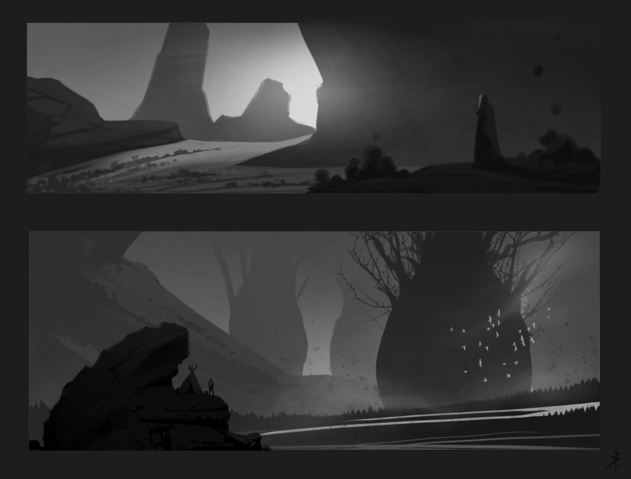 Original thumbnail sketches