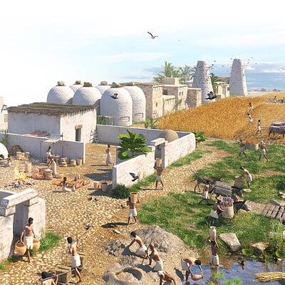 Sofian moumene egypt village highres
