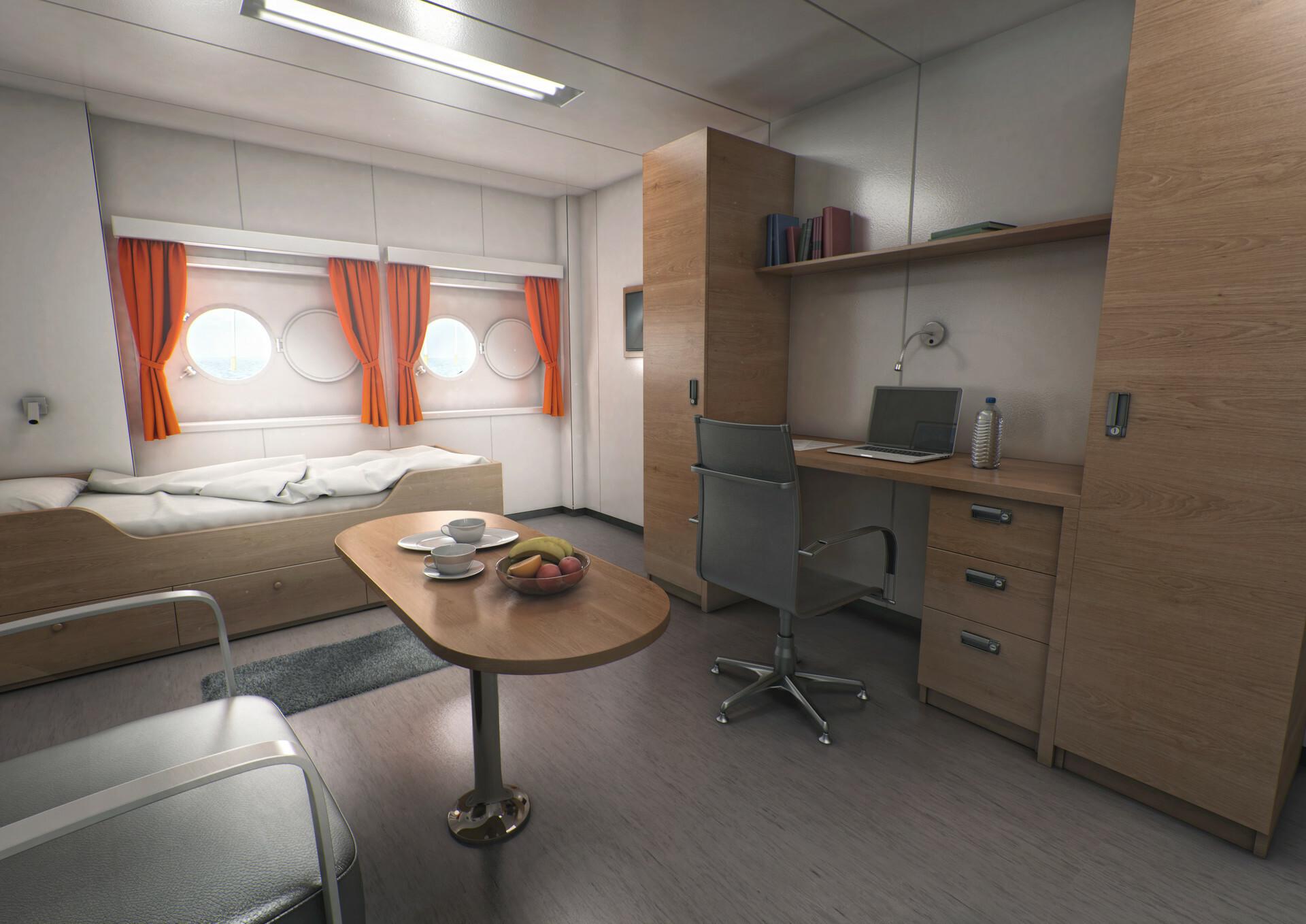Di studios di studios cabin 2