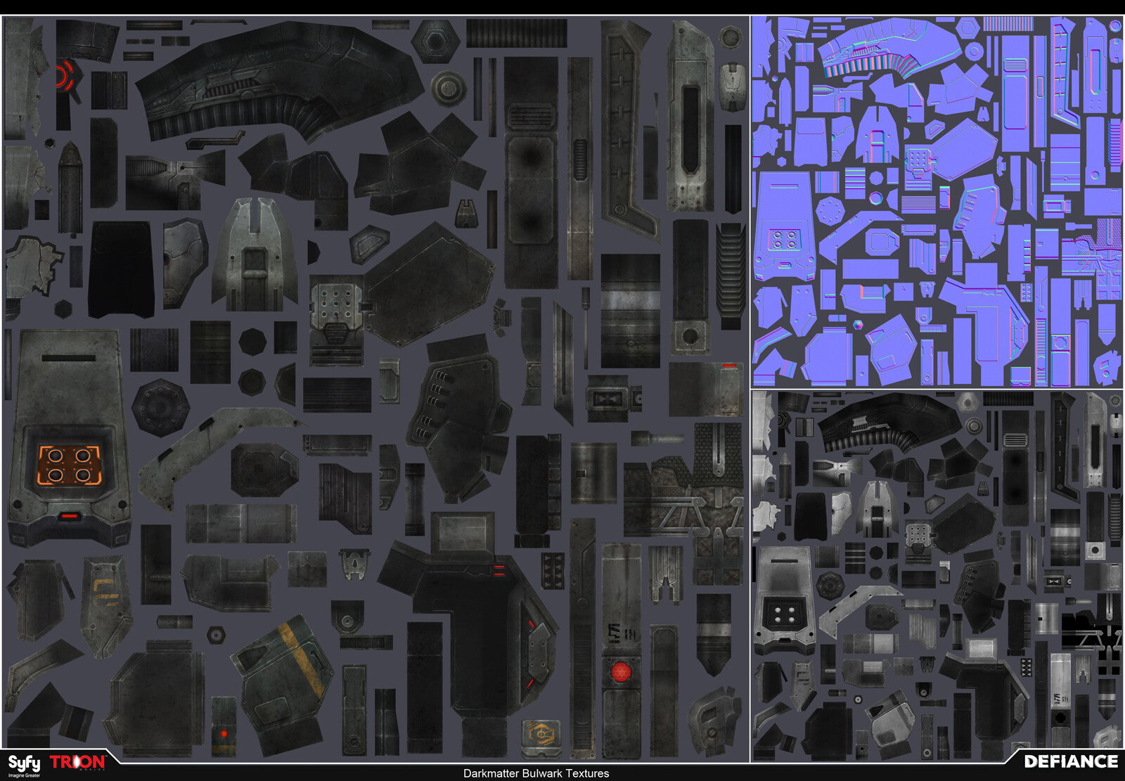 Satoshi arakawa npc darkmatter bulwark textures
