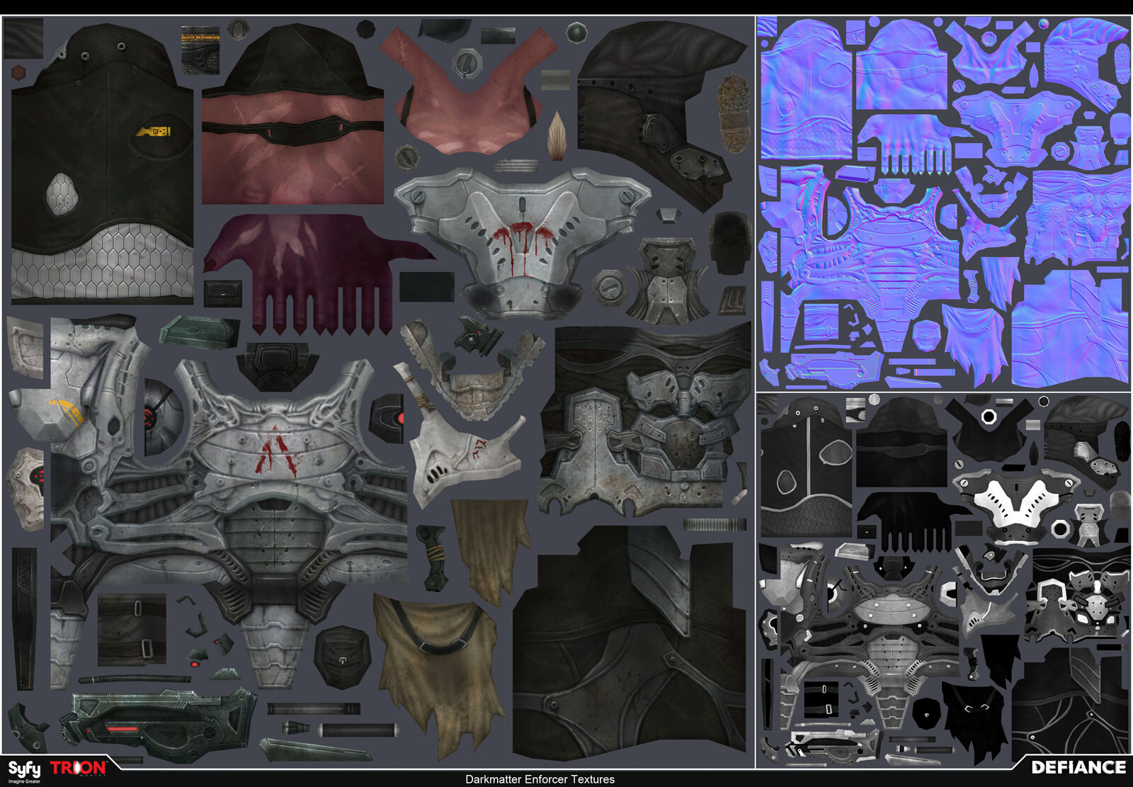 Satoshi arakawa npc darkmatter enforcer textures