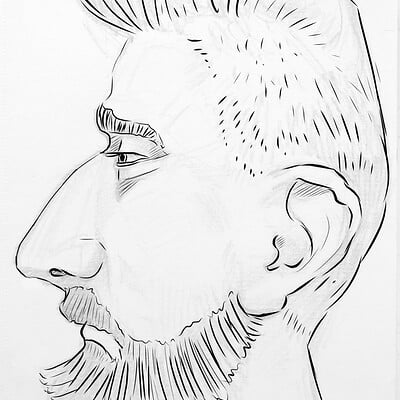 Mark grizenko 05 caricature profile
