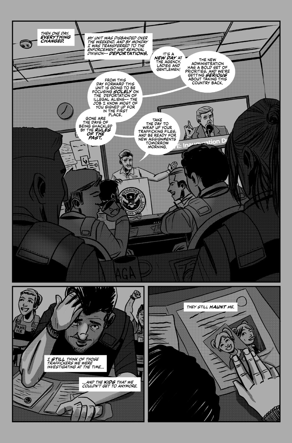 Sincerely, Agent Mejía: Page 3