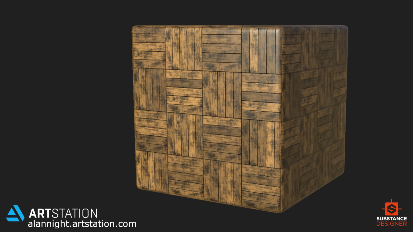 Cube Render in Substance Designer