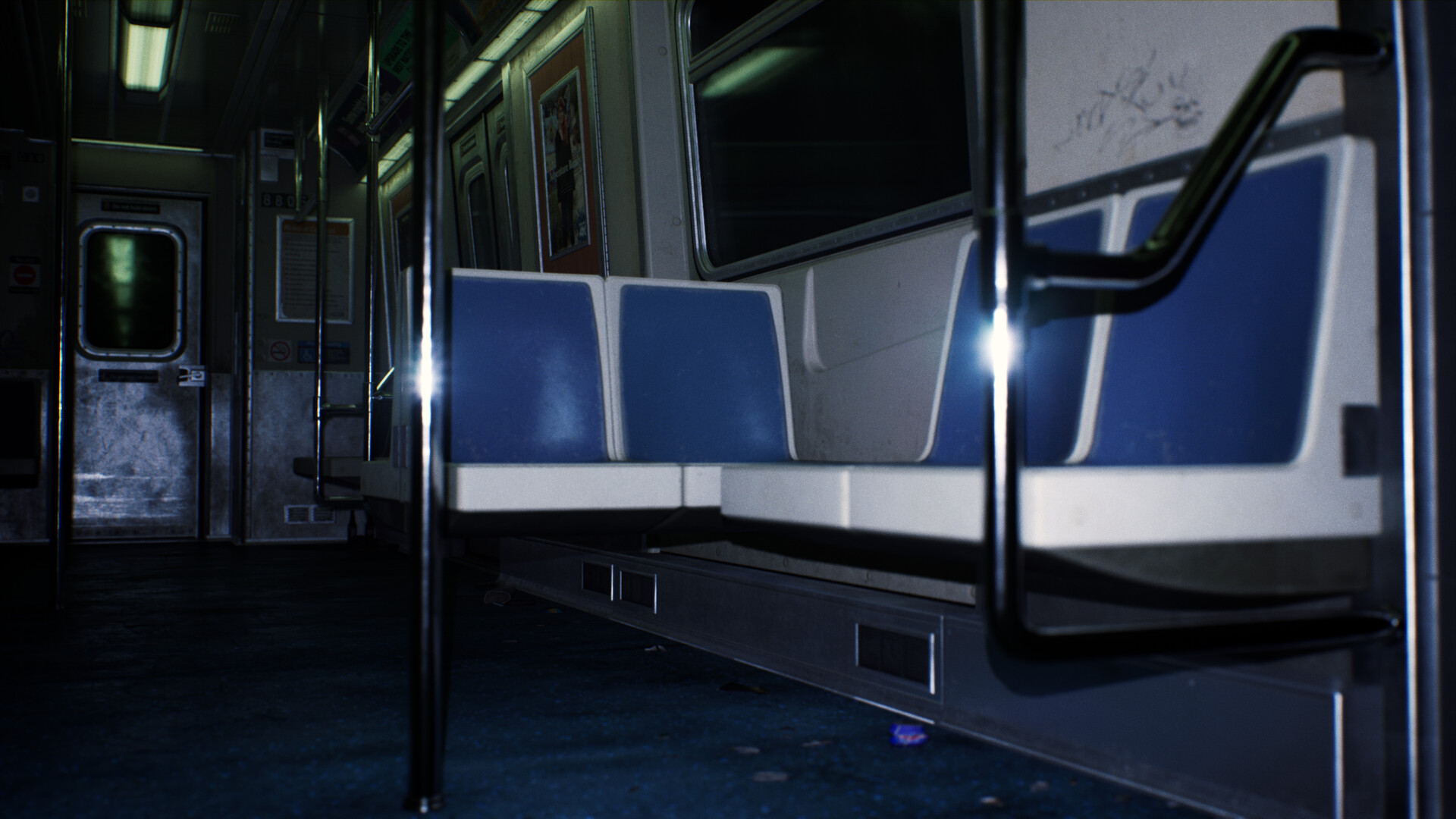 ArtStation - Unreal Engine 4 Subway Train