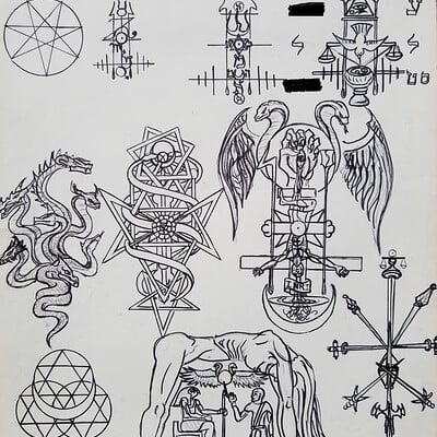 Daniel denta sigils of the living image censored