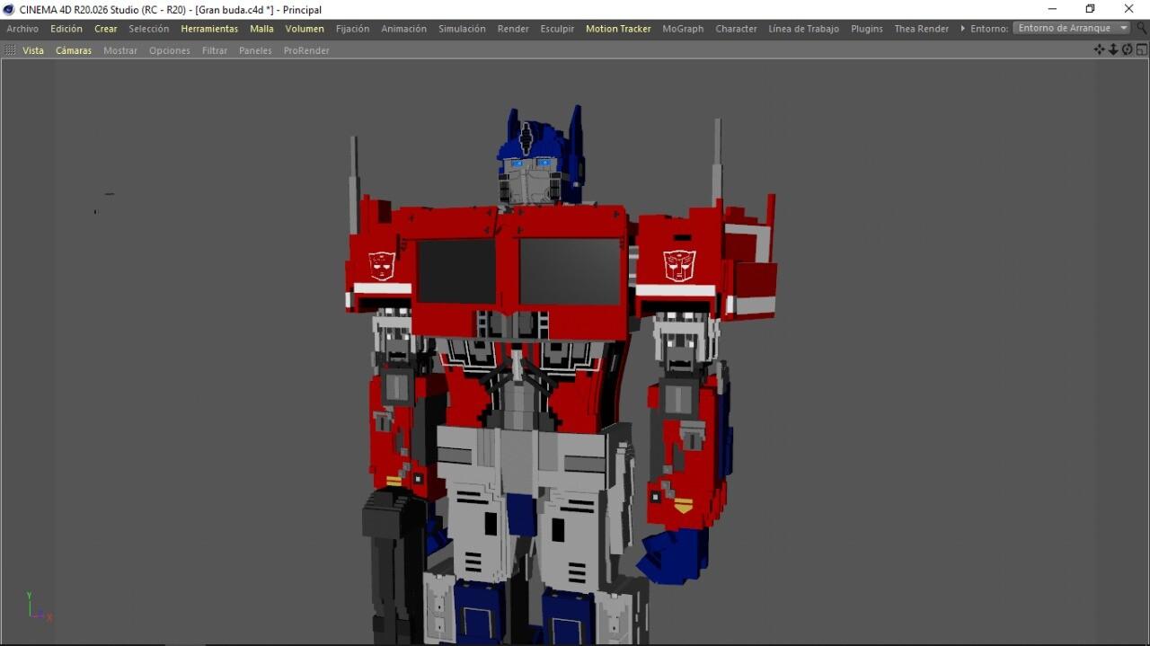 Dreamer Animations - Optimus Prime Bumblebee Movie MINECRAFT VERSION
