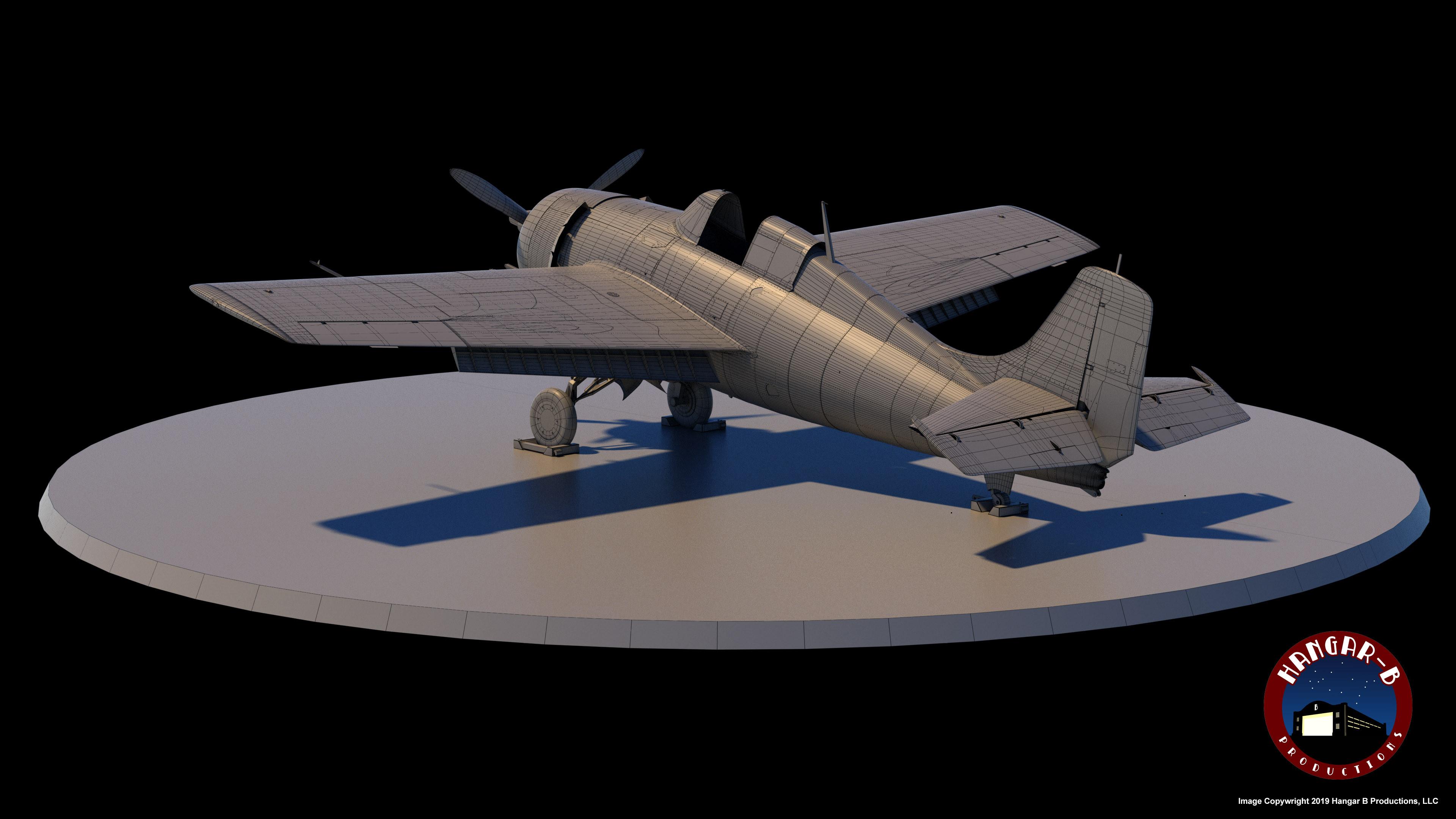 F4F-3 Wireframe