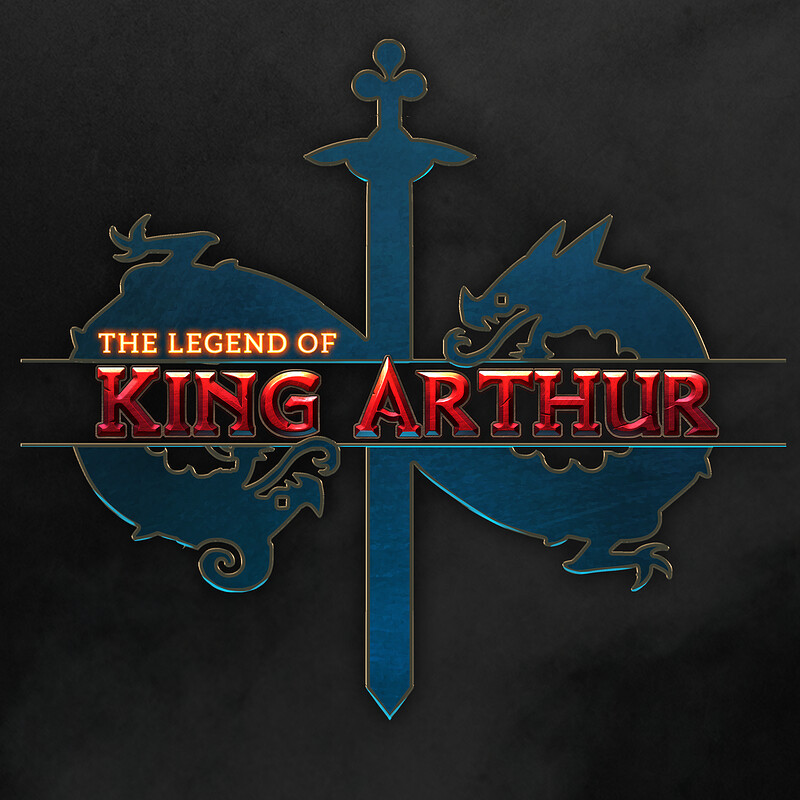 The Legend of King Arthur - graphic designs