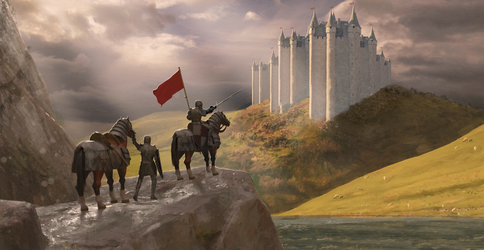 Camelot Paint over 1