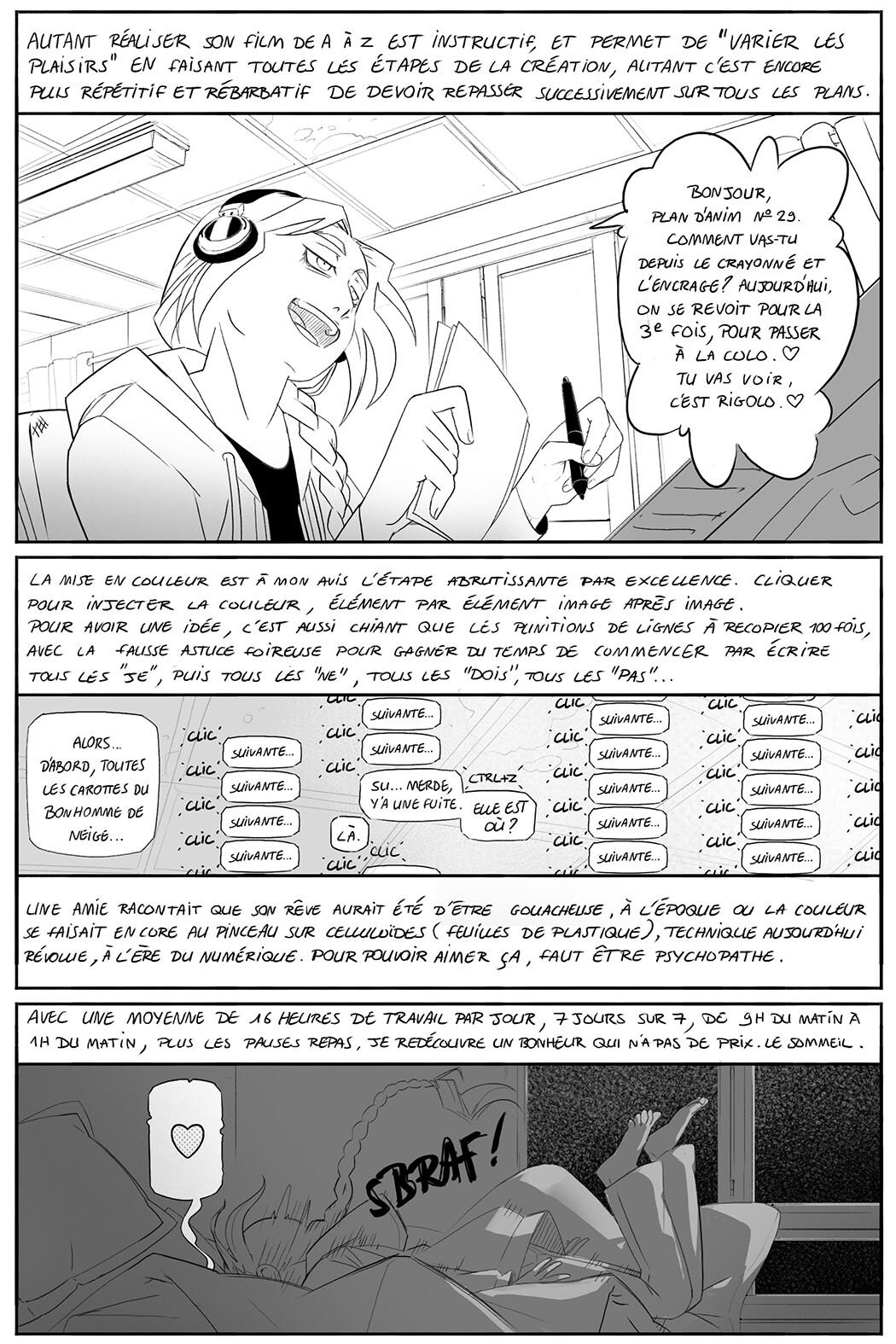 Plan De Travail Pour Repasser artstation - animation quest part. 3, alix bonnefous