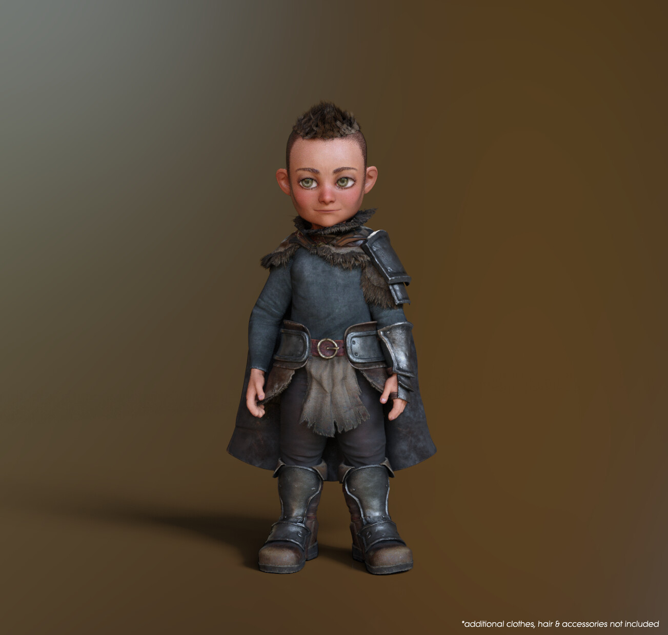 CC3 Stylized Base Neutral - Child Morph