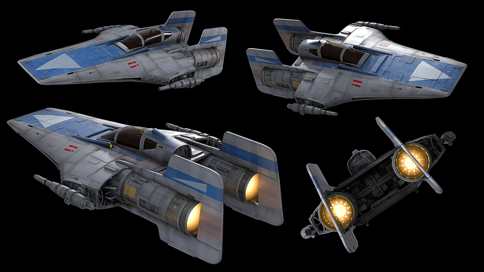 R-22 Spearhead 3d model
