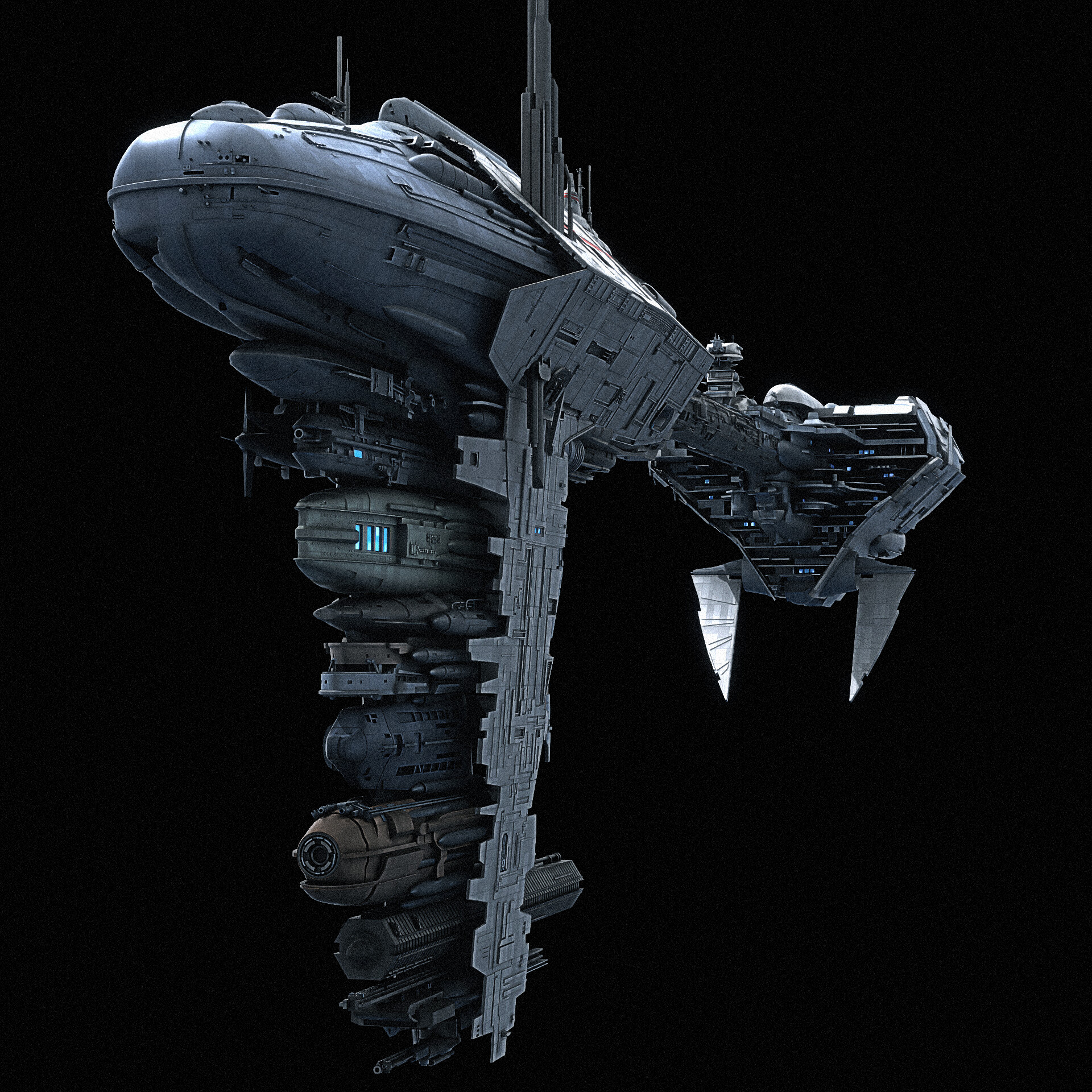 Rebel Nebulon B Frigate