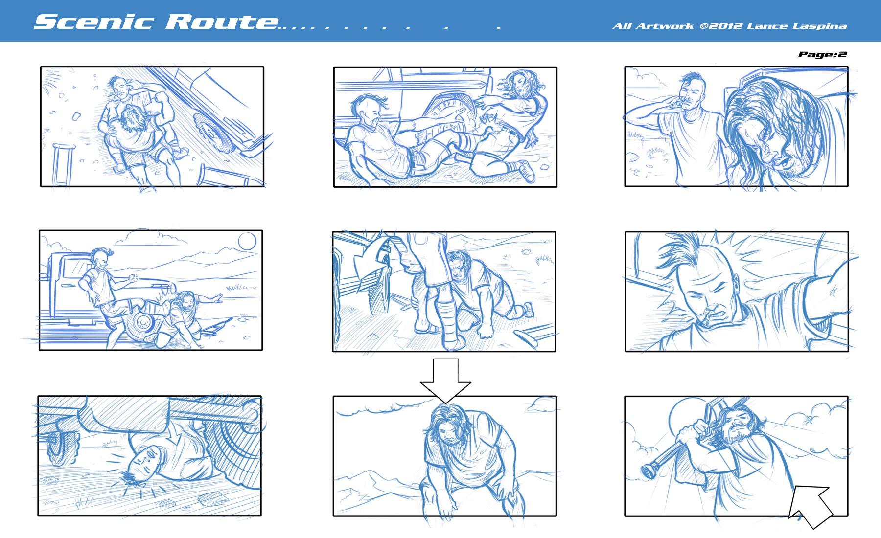 Lance laspina as storyboardsamples 27b