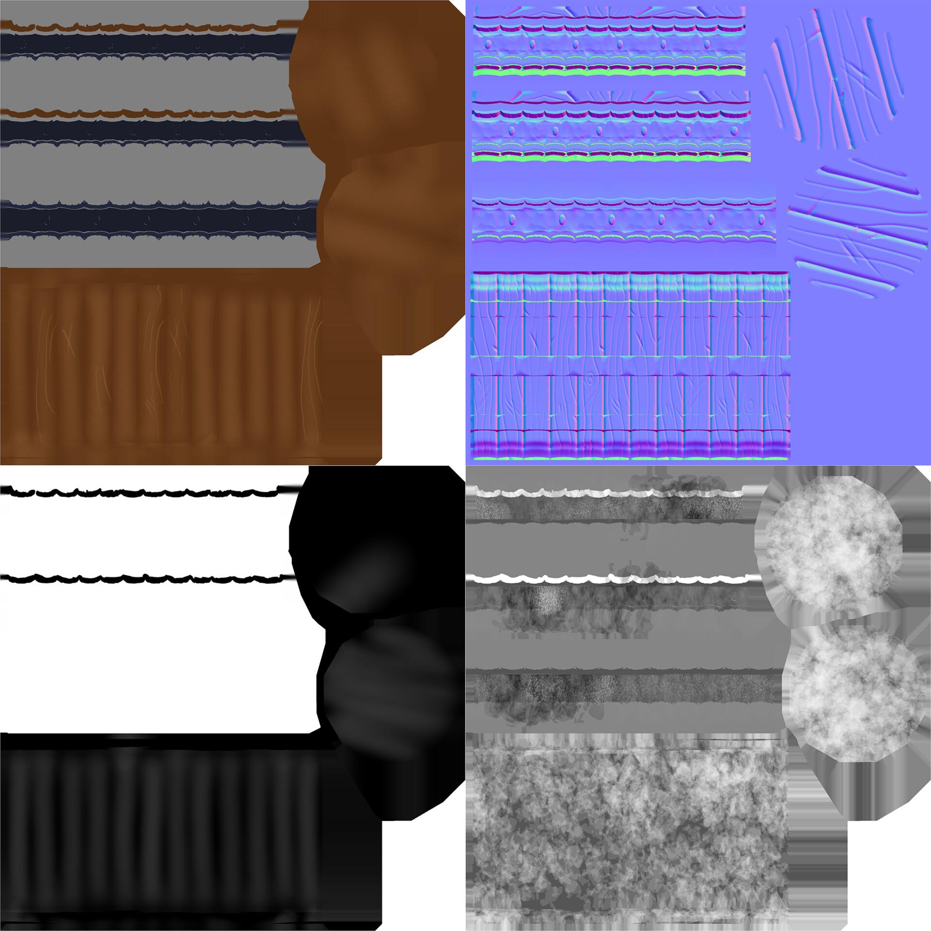 Judie thai barrel textures