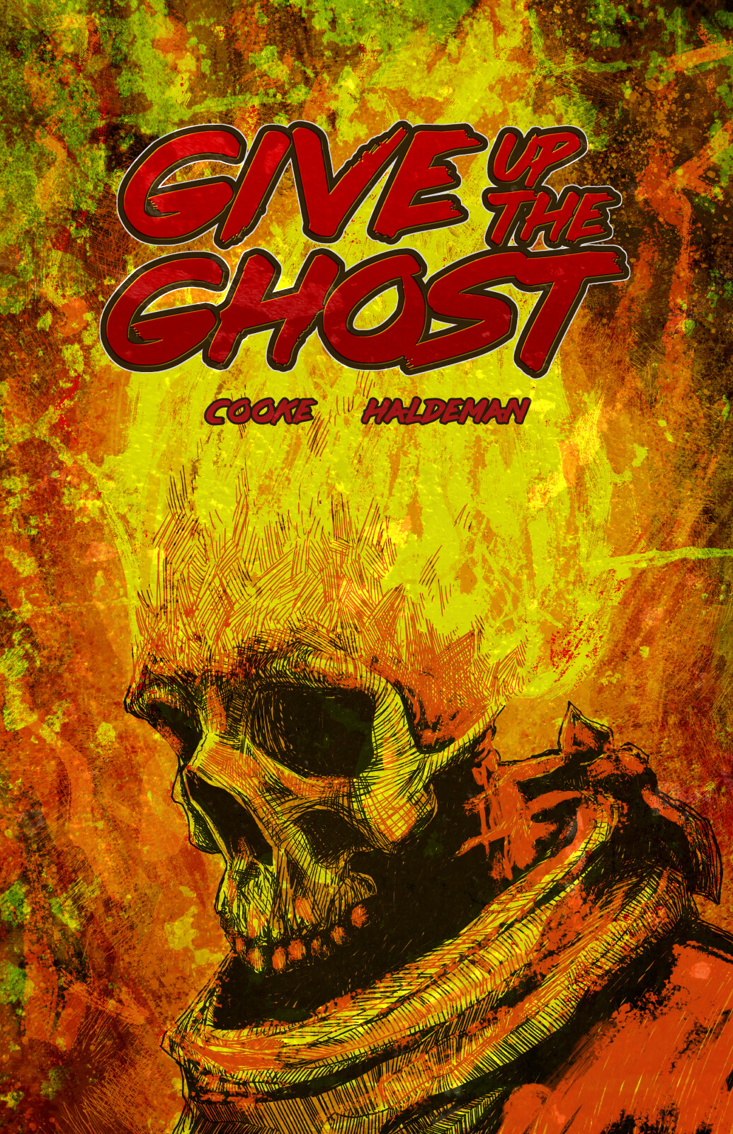 Give Up the Ghost cover.